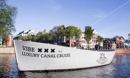 Rondvaart van 60 minuten door de Amsterdamse grachten met Amsterdam Boat Experience